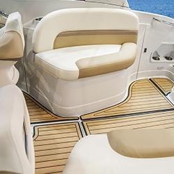Intérieur d'un bateau